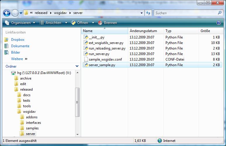 Mercurial WebDAV provider — WsgiDAV 3 0 1 documentation